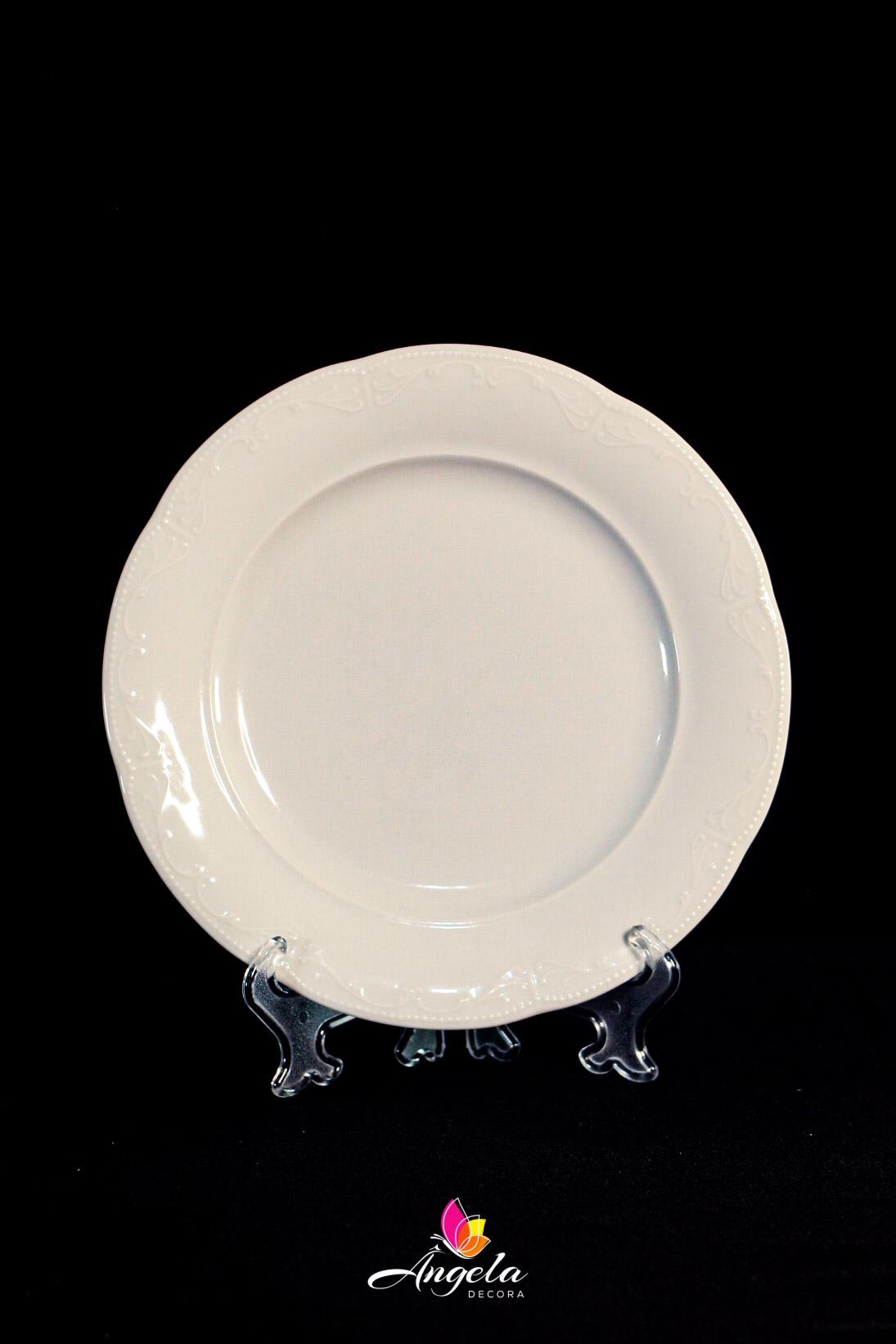 Prato Raso Caprice Porcelana