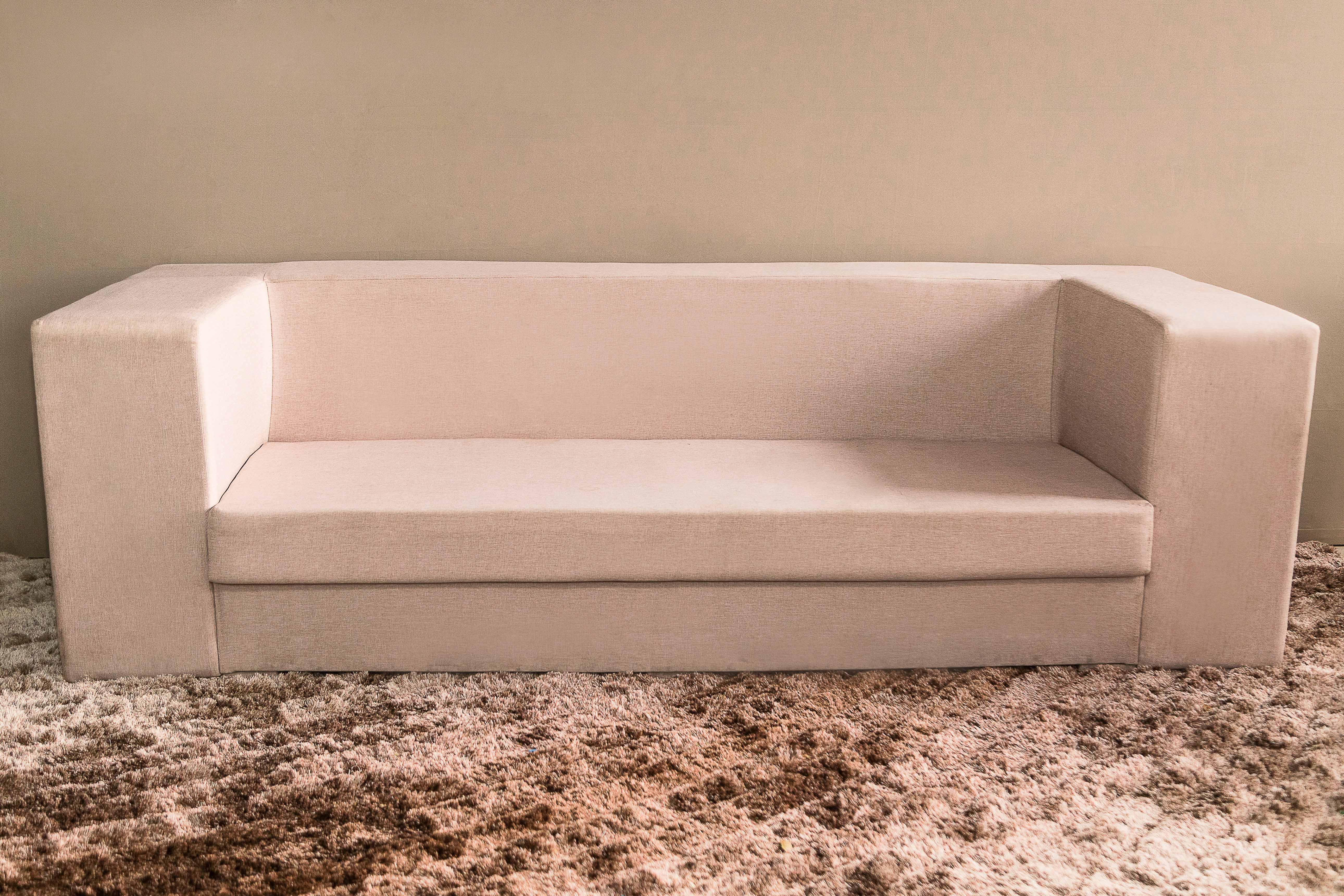 Sofá de Linho - Linhas Retas