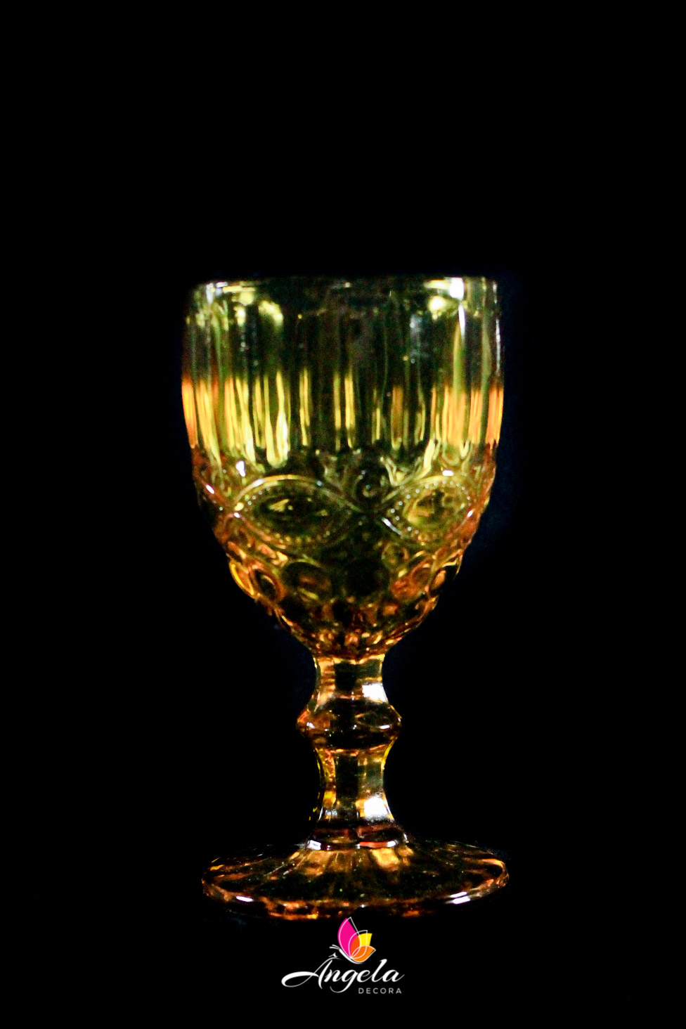 Taça de Água Elegance Amber