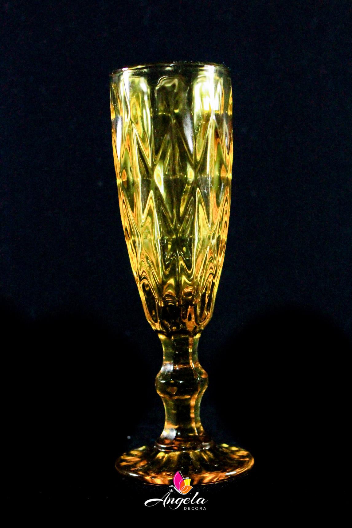 Taça Espumante Diamante Amber