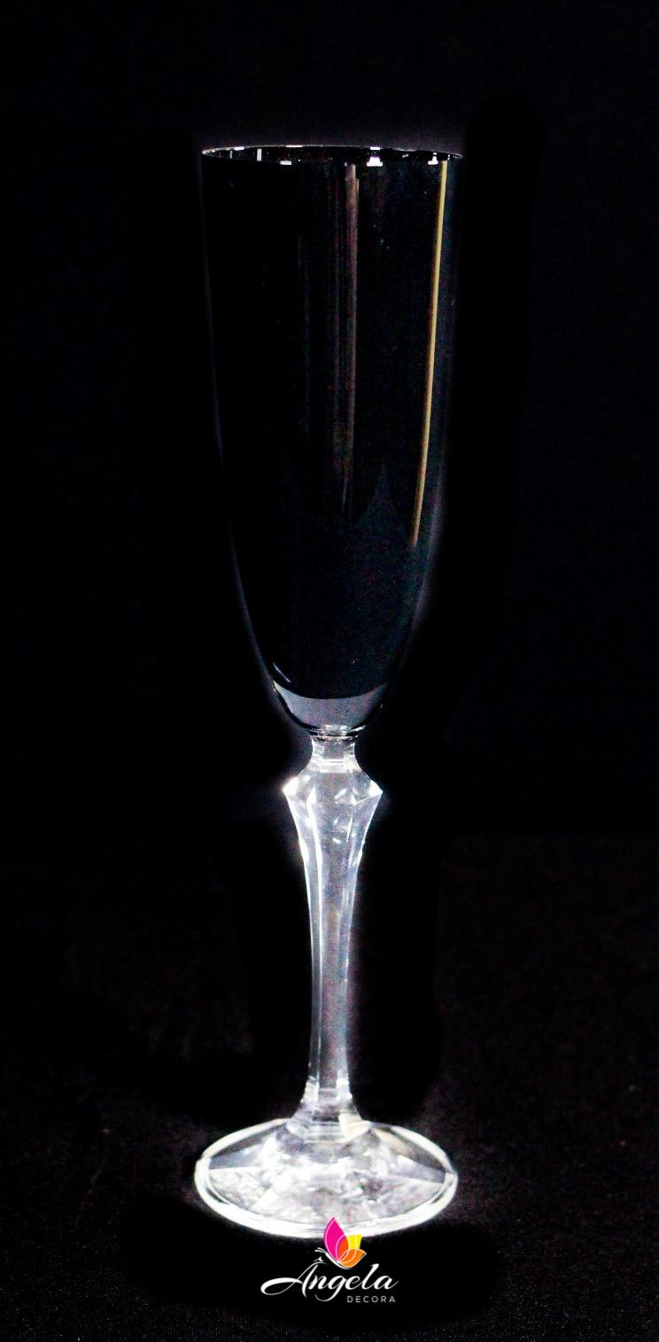 Taça Espumante Elisabeth - 200ml Preta